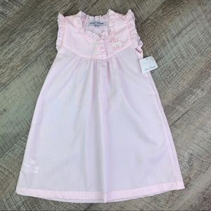 NWT Embroidered Bunny nightgown 24m/2t